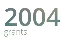 Grants awarded for 2004
