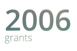 Grants awarded for 2006