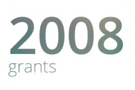 Grants awarded for 2008