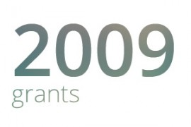 Grants awarded for 2009