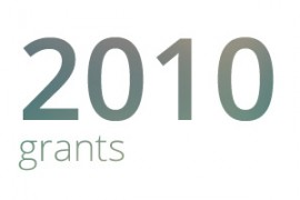Grants awarded for 2010