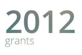 Grants awarded for 2012
